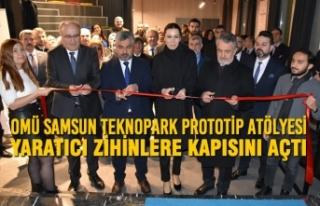 OMÜ Samsun Teknopark Prototip Atölyesi Yaratıcı...