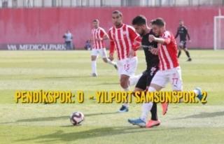 Pendikspor: 0 - Yılport Samsunspor: 2