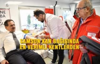 Samsun Büyükşehir Belediyesi'nden Kan Bağışı...