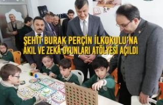 Şehit Burak Perçin İlkokulu'na Akıl Ve Zekâ...