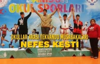 Bafra Tekvando Spor Kulübünden Bir Başarı Daha