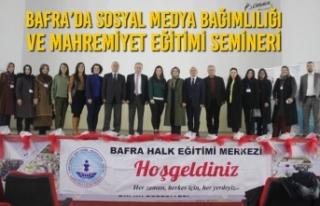 Bafra'da Sosyal Medya Bağımlılığı ve Mahremiyet...