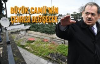 Başkan Demir: Büyük Camii'nin Çevresi Estetik...