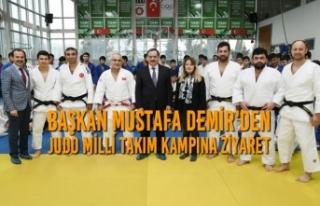 Başkan Demir, Judo Milli Takım Kampına Ziyaret...