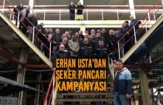 Erhan Usta'dan Şeker Pancarı Kampanyası