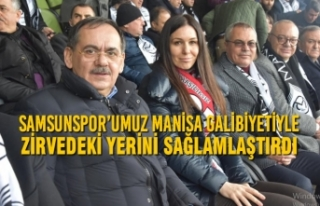 Karaaslan: Samsunspor'umuz Manisa Galibiyetiyle...