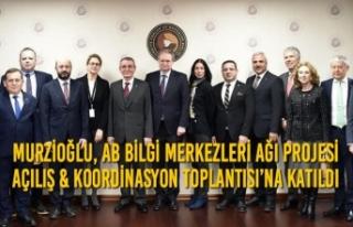 Murzioğlu, AB Bilgi Merkezleri Ağı Projesi Açılış...