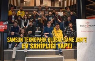 Samsun Teknopark Global Game Jam'e Ev Sahipliği...