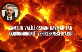 Samsun Valiliği Karbonmonoksit Zehirlenmesi Konusunda...