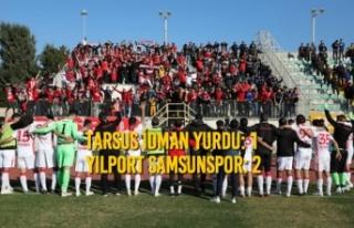 Tarsus İdman Yurdu – Yılport Samsunspor: 1 –...