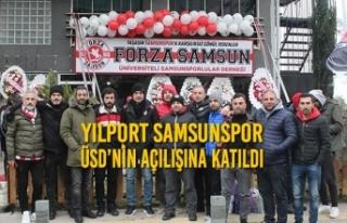 Yılport Samsunspor ÜSD'nin Açılışına Katıldı
