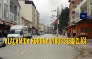 Alaçam'da Korona Virüs Sessizliği