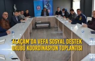 Alaçam'da Vefa Sosyal Destek Grubu Koordinasyon...