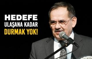 Başkan Demir; 'Hedefe Ulaşana Kadar Durmak...