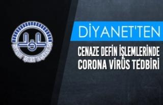 Cenaze Defin İşlemlerinde Corona Virüs Tedbiri