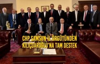 CHP Samsun İl Örgütünden Kılıçdaroğlu'na...