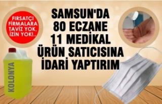 Samsun'da Haksız Fiyat Artışı Yapan 91 İş...