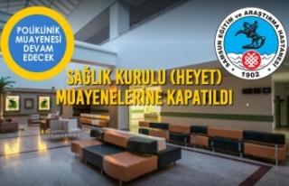 Samsun Eğitim ve Araştırma Hastanesi Sağlık Kurulu...