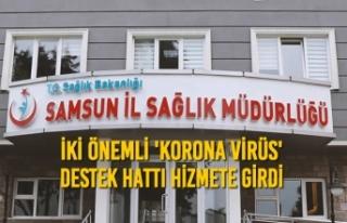 Samsun Sağlık Müdürlüğü'nden İki Önemli...