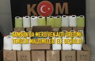 Samsun'da Merdiven Altı Üretimi Temizlik Malzemeleri...