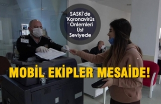 SASKİ'de 'Koronavirüs' Önlemleri...