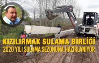 Kızılırmak Sulama Birliği 2020 Yılı Sulama Sezonuna...