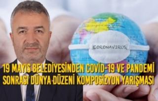 19 Mayıs Belediyesinden Covid-19 ve Pandemi Sonrası...