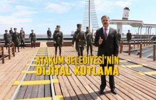 Atakum Belediyesi'nin Dijital Kutlama Programı...
