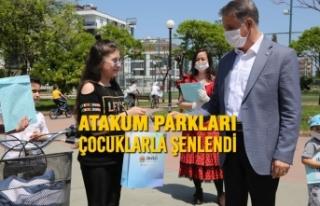 Atakum Parkları Çocuklarla Şenlendi