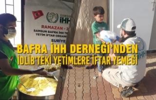 Bafra İHH Derneği'nden İdlib'teki Yetimlere...