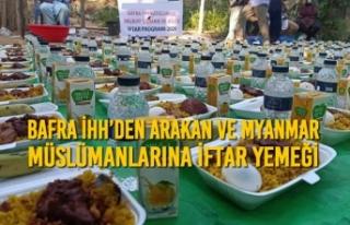 Bafra İHH'den Arakan ve Myanmar Müslümanlarına...