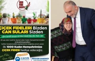 Canik Belediye Başkanı Sandıkçı'dan Canikli...