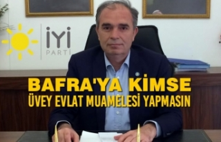 """İYİ Parti İlçe Başkanı Yılmaz; """"Bafra Neden..."""