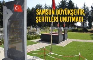 Samsun Büyükşehir, Şehitleri Unutmadı