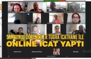 Samsunlu Öğrenciler TÜGVA İcathane İle Online...