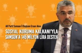 Sosyal Koruma Kalkanı'yla Samsun'a 145...