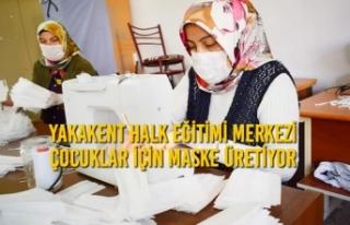 Yakakent Halk Eğitimi Merkezi Çocuklar İçin Maske...