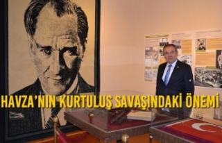 Zeybek'ten Atatürk'ün Havza'ya gelişinin...