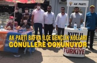 AK Parti Bafra İlçe Gençlik Kolları Gönüllere...