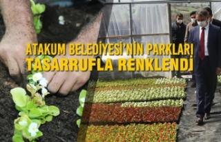 Atakum Belediyesi'nin Parkları Tasarrufla Renklendi