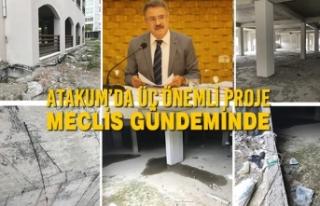 Atakum'da Üç Önemli Proje Meclis Gündeminde