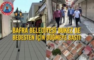 Bafra Belediyesi Bukez De Bedesten İçin Düğmeye...
