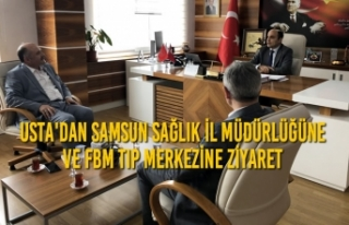 Erhan Usta'dan Samsun Sağlık İl Müdürlüğüne...