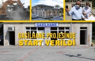Gasilhane Projesinde Start Verildi