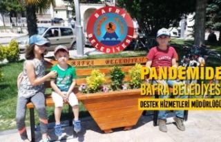 Pandemide Bafra Belediyesi; Destek Hizmetleri Müdürlüğü