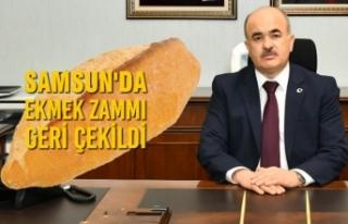 Samsun'da Ekmek Zammı Geri Çekildi