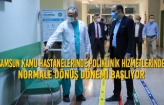 Samsun Kamu Hastanelerinde Poliklinik Hizmetlerinde...