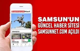 Samsun'un Güncel Haber Sitesi Samsun Net Açıldı
