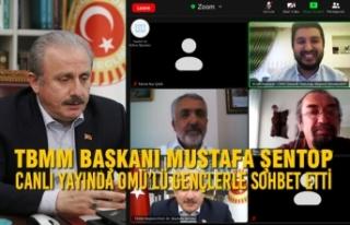 TBMM Başkanı Mustafa Şentop Canlı Yayında OMÜ'lü...