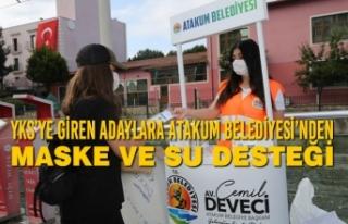 YKS'ye Giren Adaylara Atakum Belediyesi'nden Maske...